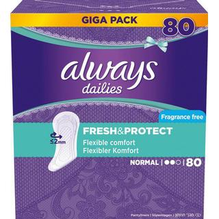 Always Fresh & Protect Normal 80-pack