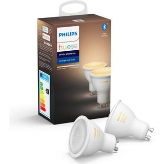 Philips Hue White Ambience LED Lamps 5W GU10 2-pack
