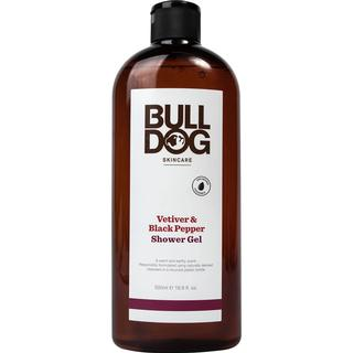 Bulldog Black Pepper & Vetiver Shower Gel 500ml