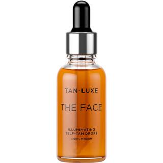 Tan-Luxe The Face Illuminating Self-Tan Drops Light/Medium 30ml