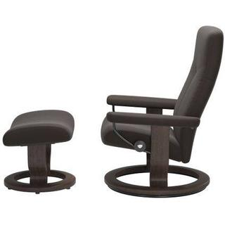 Ekornes Stressless Dover Classic Medium with Footstool Leather 100cm Reclining Chair