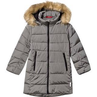Reima Lunta Juniors' Long Winter Jacket - Soft Grey (531416-9370)