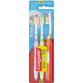 Colgate Extra Clean Medium 3-pack
