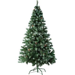 tectake 100x180cm Christmas tree Christmas decorations
