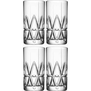 Orrefors Peak Drinking Glass 37 cl 4 pcs