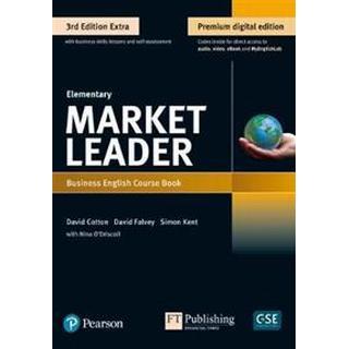 Market Leader 3e Extra Elementary Course Book, eBook, QR, MEL & DVD Pack