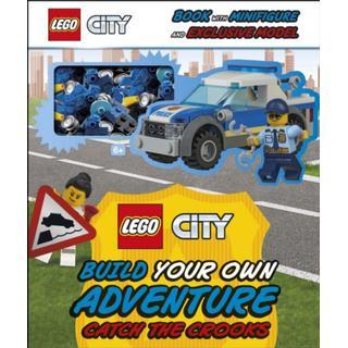 LEGO City Build Your Own Adventure Catch the Crooks:... (Bog, Hardback)