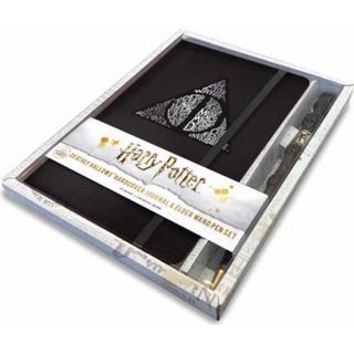 Harry Potter: Deathly Hallows Hardcover Ruled Journal (Bog, Hardback)