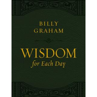 Wisdom for Each Day (Large Text Leathersoft) (Bog, Leather / fine binding)