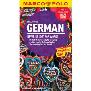 German Marco Polo Phrasebook (Bog, Paperback / softback)