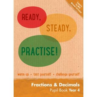 Year 4 Fractions and Decimals Pupil Book: Maths KS2 (Bog, Paperback / softback)