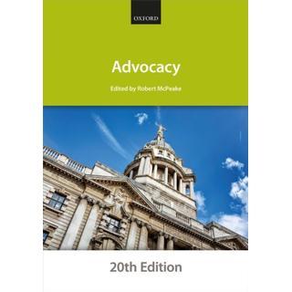 Advocacy (Bog, Paperback / softback)