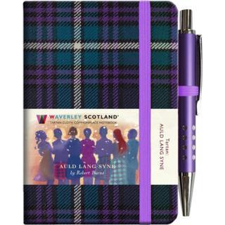 Auld Lang Syne Tartan Notebook (mini with pen) (Bog, Hardback)