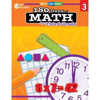 180 Days of Math for Third Grade: Practice, Assess, Diagnose (Bog, Mixed media product)