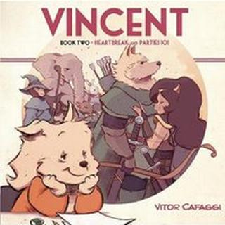 Vincent Book Two: Heartbreak and Parties 101 (Bog, Paperback / softback)