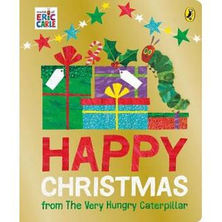 Happy Christmas from The Very Hungry Caterpillar (Bog, Board book)
