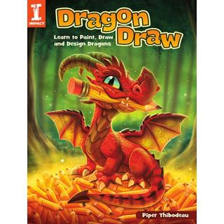 Dragon Draw: Learn to Design, Draw and Paint Dragons (Bog, Paperback / softback)