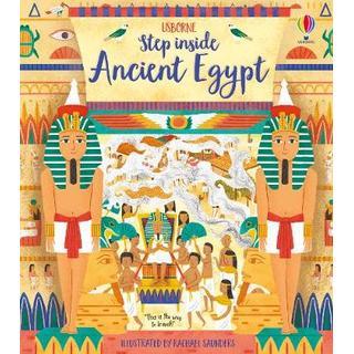 Step Inside Ancient Egypt (Bog, Board book)