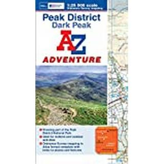Dark Peak Adventure Atlas (Bog, Paperback / softback)