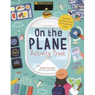 On The Plane Activity Book: Includes puzzles, mazes,... (Bog, Paperback / softback)