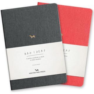 A Notebook For Bad Ideas - Grey/plain (Bog, Notebook / blank book)