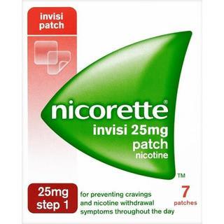 Nicorette Step1 Invisi 25mg 7pcs
