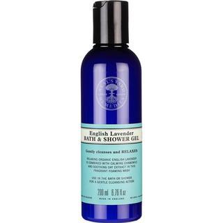 Neal's Yard Remedies English Lavender Bath & Shower Gel 200ml