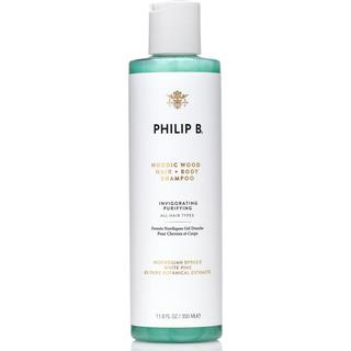 Philip B Nordic Wood Hair & Body Shampoo 350ml