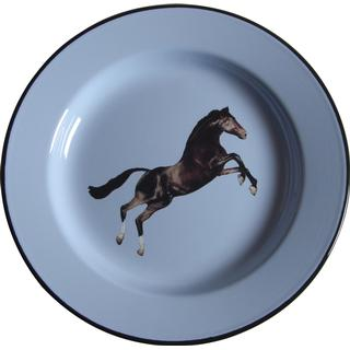 Seletti Toiletpaper Horse Dinner Plate 26 cm