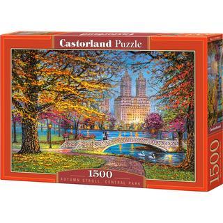Castorland Autumn Stroll Central Park 1500 Pieces