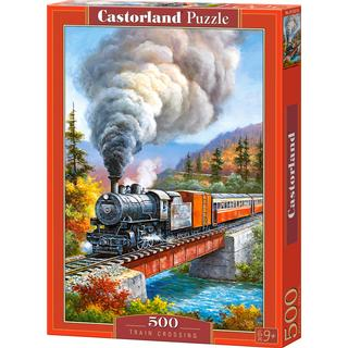 Castorland Train Crossing 500 Pieces