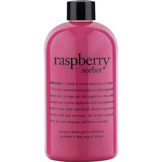 Philosophy Shampoo, Shower Gel & Bubble Bath Raspberry 480ml