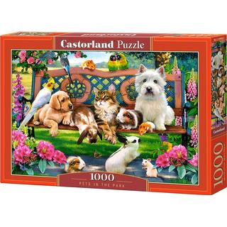 Castorland Pets in the Park 1000 Pieces