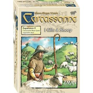 Z-Man Games Carcassonne: Hills & Sheep