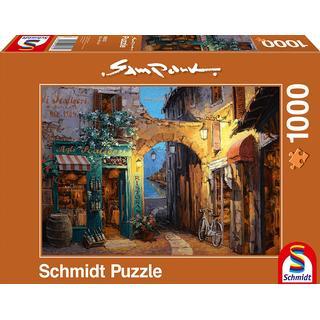 Schmidt Sam Park Alleys on Lake Como 1000 Pieces