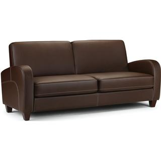 Julian Bowen Vivo 183cm Leatherette Sofa 3 Seater