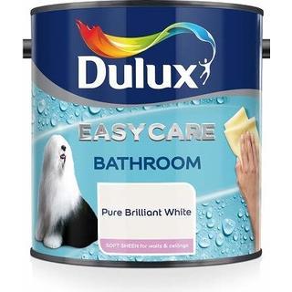 Dulux Bathroom Plus Wall Paint White 2.5L