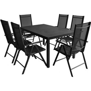 vidaXL 42770 1 Table incl. 6 Chairs Dining Group, 1 Table inkcl. 6 Chairs