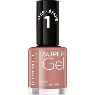 Rimmel Super Gel Nail Polish #019 Drama Pink 12ml
