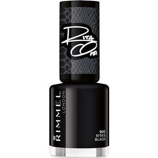 Rimmel 60 Seconds Super Shine By Rita Ora #900 Black Black 8ml