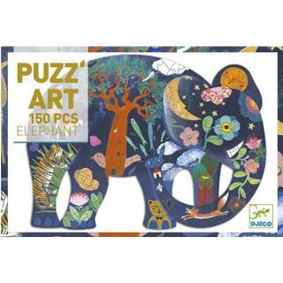 Djeco Puzz Art Elephant 150 Pieces