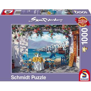 Schmidt Rendezvous in Mykonos 1000 Pieces