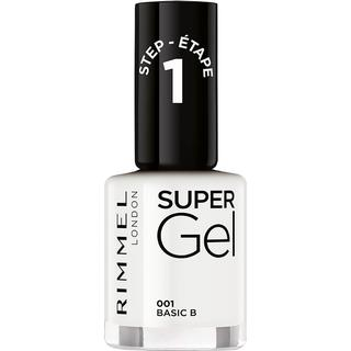 Rimmel Super Gel Nail Polish #001 Basic B 12ml