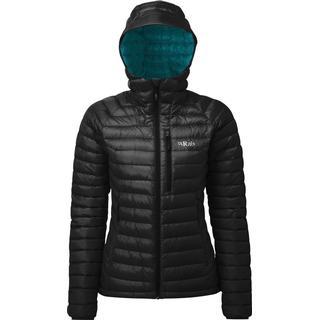 Rab Microlight Alpine Jacket - Black/Seaglass