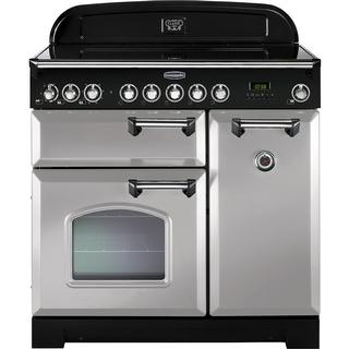 Rangemaster Classic Deluxe 90 Induction Silver
