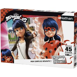NATHAN Miraculous Lady Bug Puzzle 45 Pieces