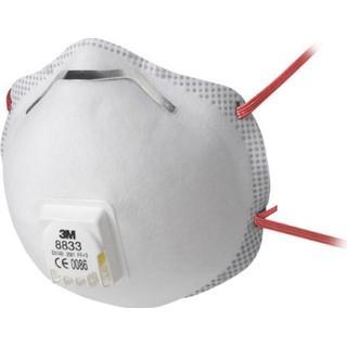 3M 8833 Disposable Respirator FFP3 Valved 10-pack