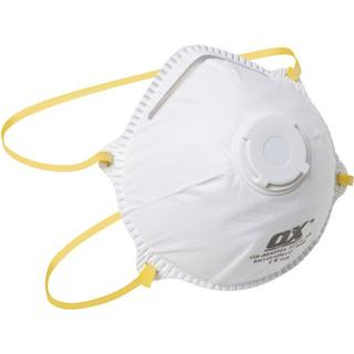 Ox-On FFP1 Moulded Cup Respirator/Valve 10-pack
