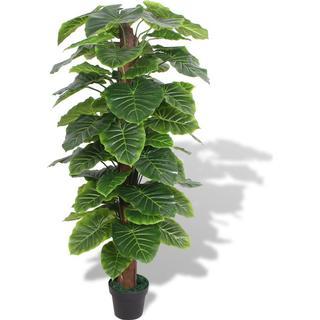 vidaXL Artificial Taro Plant with Pot 145cm
