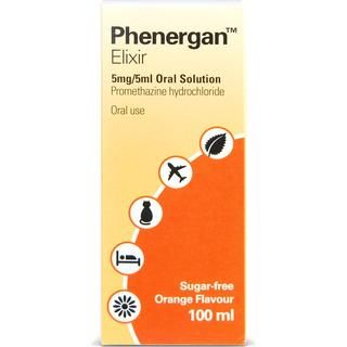 Phenergan Elixir 5mg/5ml 100ml